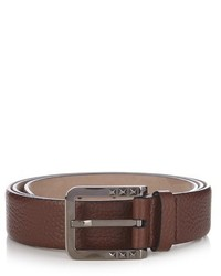 Valentino Grained Leather Belt