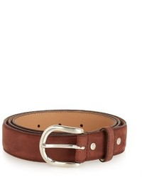 A.P.C. Hans Brushed Leather Belt
