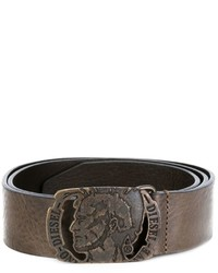 Diesel Head Buckle Belt