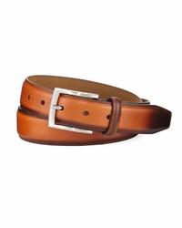 Neiman Marcus Italian Hand Burnished Belt