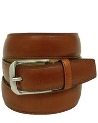 Joseph Abboud Light Brown Leather Belt