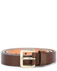 Lardini Gold Tone Buckle Belt