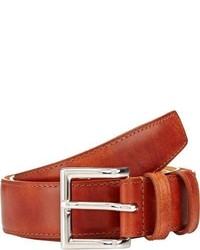 John Lobb Leather Belt Brown