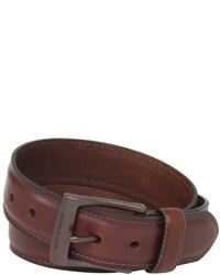 Levi's Leather Belt With Padded Center