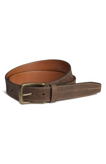 Trask Logan Bison Leather Belt