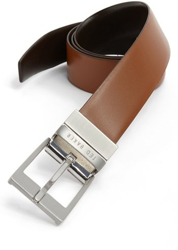 d8507a5a081b ... Ted Baker London Reversible Leather Belt ...