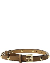 MICHAEL Michael Kors Michl Michl Kors All Over Faceted Stud Flip Tie Panel Belts