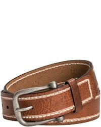 Danbury Milled Leather Belt