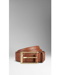 Burberry Ostrich Leather Belt