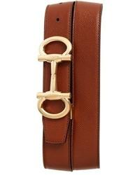Salvatore Ferragamo Parigi Reversible Leather Belt