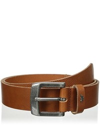 Armani Jeans Perforated Leather Belt