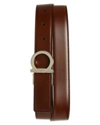 Salvatore Ferragamo Reversible Gancio Leather Belt