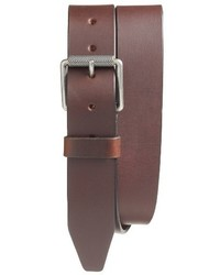 Roller buckle leather belt medium 4912384