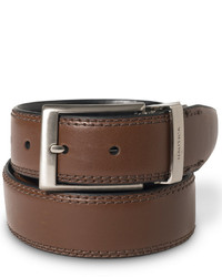 Nautica Saddle Leather Reversible Belt