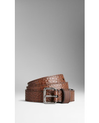 Burberry Signature Grain Leather Belt