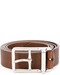 Maison Margiela Silver Buckle Belt