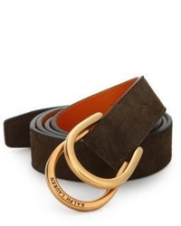 Ralph Lauren Stirrup D Ring Belt