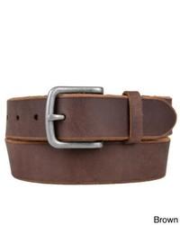 Timberland Raw Edge Genuine Leather Belt