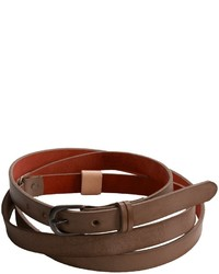 Will Leather Goods Vera Double Wrap Belt