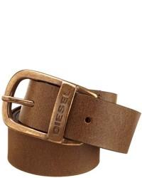 Diesel Wapr Service Leather Belt