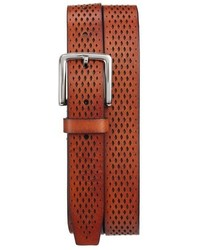 Cole Haan Washington Grand Perforated Leather Belt