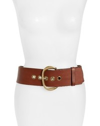 Wide leather belt medium 3992481