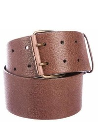 Brunello Cucinelli Wide Leather Belt
