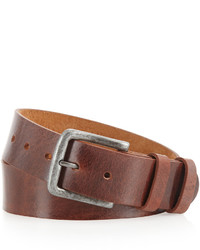 Will Leather Goods Will Leathergoods Ashland Leather Belt Brown