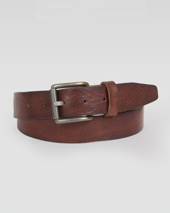 Will Leather Goods Willard Leather Belt Brown