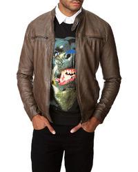 Forever 21 21 Faux Leather Biker Jacket