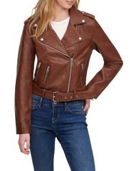 Levi's Faux Leather Fashion Moto Jacket