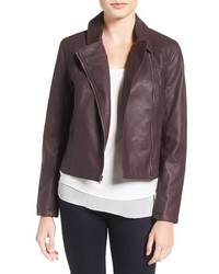 Cupcakes And Cashmere Joslyn Faux Leather Moto Jacket