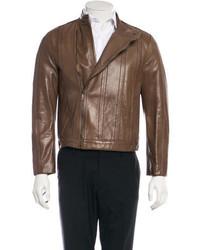 Gucci Leather Biker Jecket