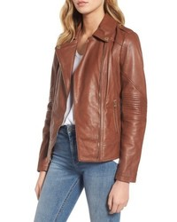 Leather moto jacket medium 5170609