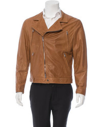Brunello Cucinelli Leather Moto Jacket