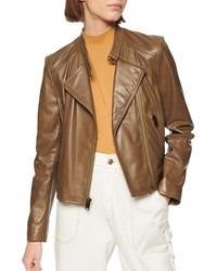 Marc New York Wheeland Lambskin Moto Jacket