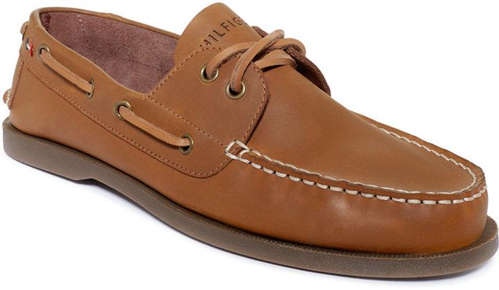 ... Tommy Hilfiger Bowman Boat Shoes Shoes