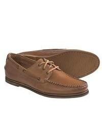 Florsheim Tienomite Boat Shoes Leather Navytan