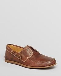 John Varvatos Usa Schooner Laceless Boat Shoes
