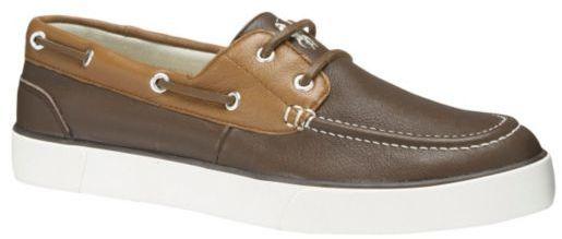 ... Polo Ralph Lauren Sander Leather Boat Shoes