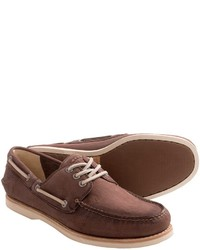 Frye Sully Leather Boat Shoes