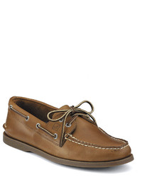 Sperry Top Sider Authentic Original 2 Eye Leather Boat Shoes