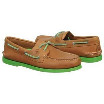 Sperry Top Sider Authentic Original 2 Eye Neon Boat Shoe