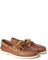 Sperry Top Sider Authentic Original Two Eye Leather Boat Shoes