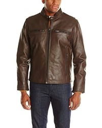 Andrew Marc Marc New York By Lamar Leather Moto Jacket