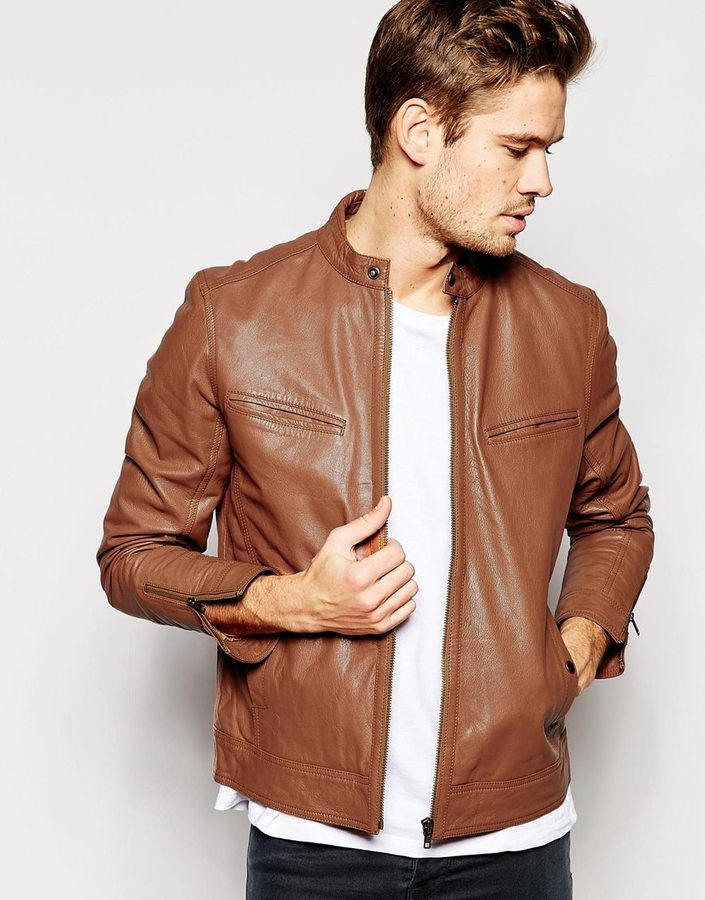Asos Brand Leather Biker Jacket | Where to buy & how to wear
