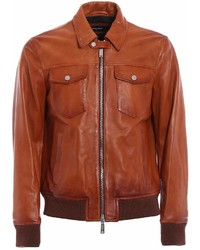 b7cdae12f Brown Bomber Jackets for Men | Men's Fashion | Lookastic.com