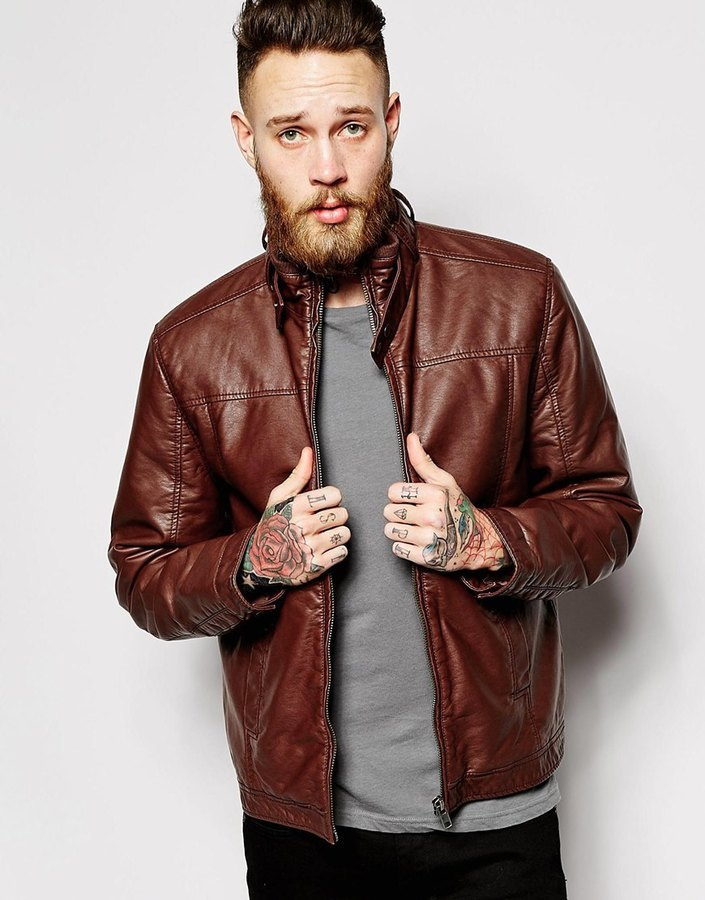 Where to buy leather jackets mens