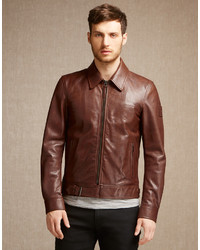 Belstaff Ryde Jacket Oak Brown