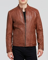 Hugo Boss Boss Orange Jips Leather Jacket